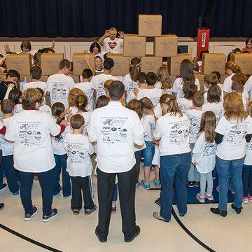 Charity project in kindergarten christian school