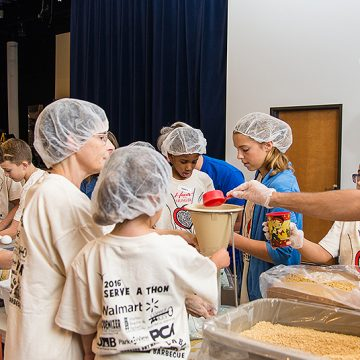 Hearts and hunger project in virginia christian academy