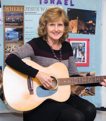 Esther Wenger Cornerstone Christian School in VA