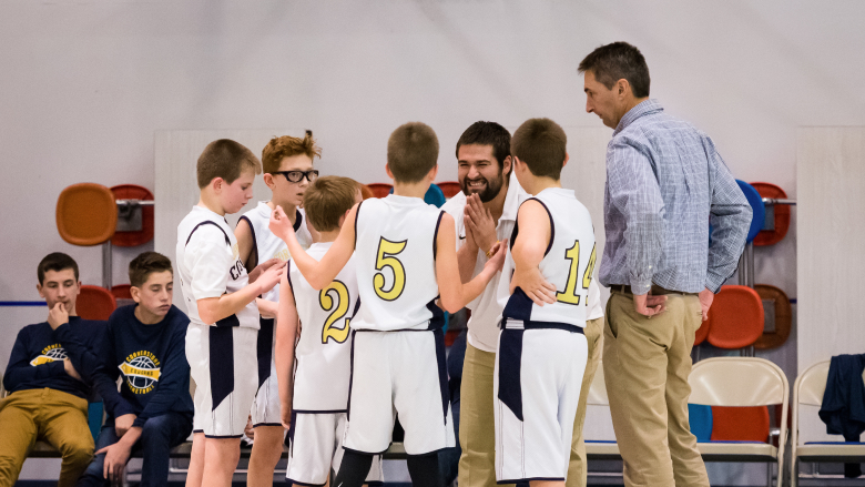 a teacher coaching for middle school sports in va