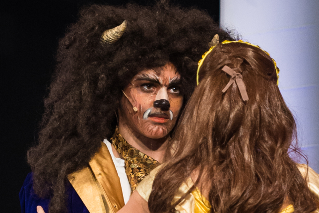beauty and the beast school play for art activities for elementary students