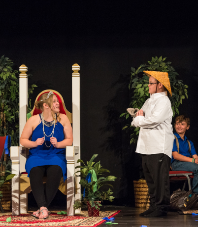 Dinner theatre for middle school students