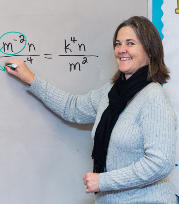 Melissa Shirk Cornerstone Christian School in VA