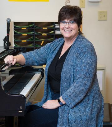 Michele Morgan Cornerstone Christian School in VA