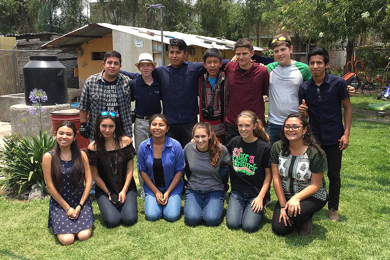 Cornerstone christian school's student trip to Mexico