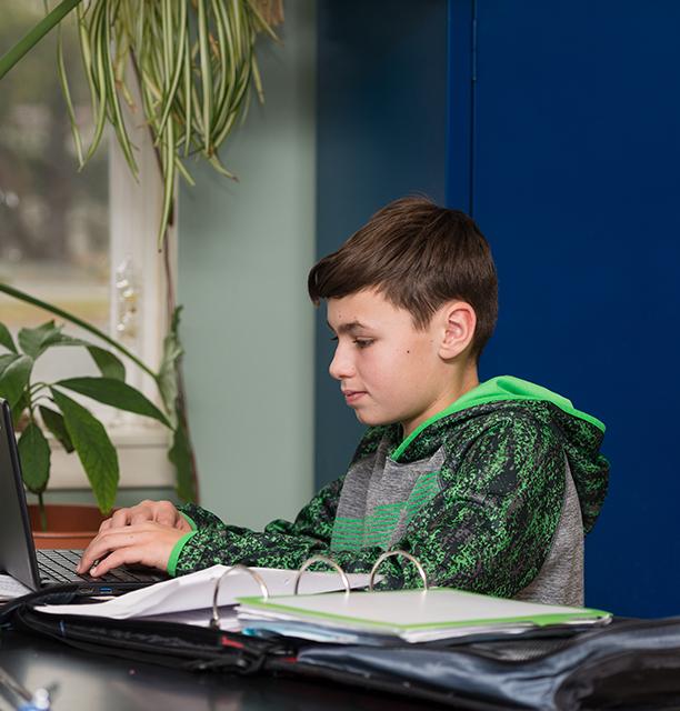 eight grade student at private schools in Harrisonburg