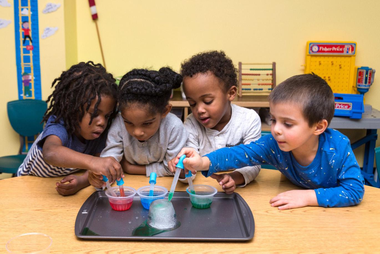 kids activities at preschool Harrisonburg, VA