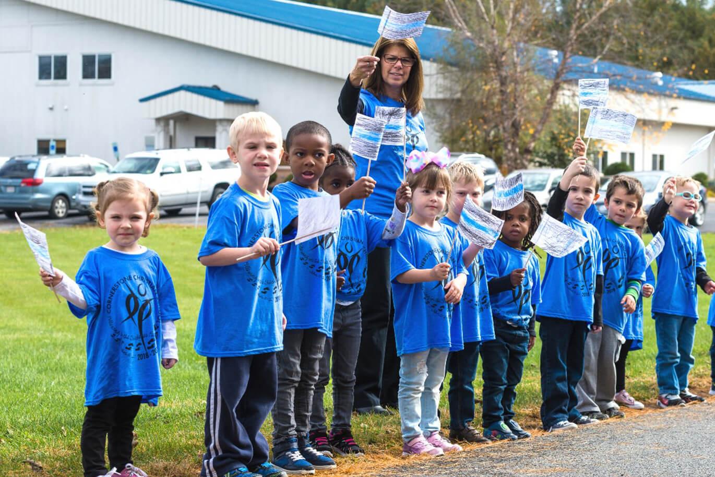 outdoor activities in preschool in Harrisonburg, VA